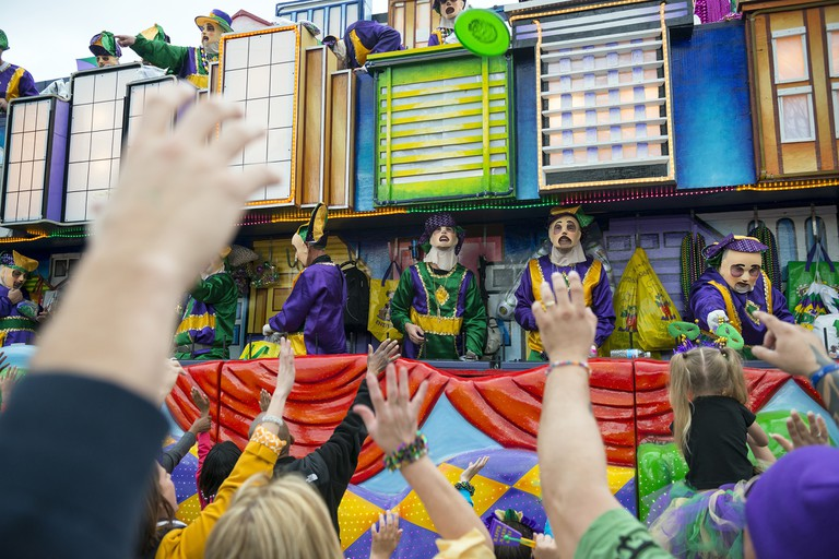 Mardi Gras is celebrated in all of Louisiana