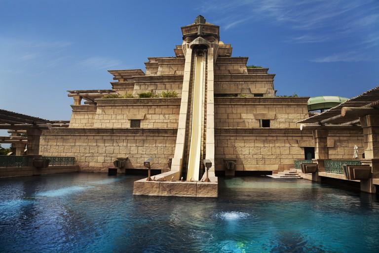 Waterpark of Atlantis the Palm hotel, Dubai, UAE