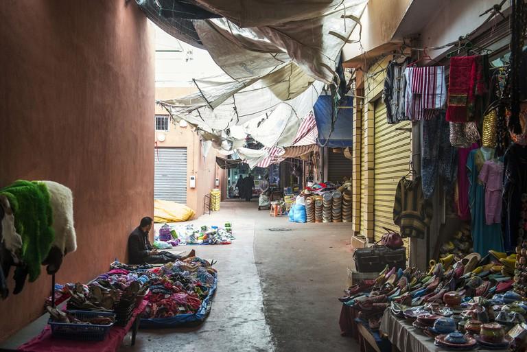 Souk El Had, 3rd biggest market in the world