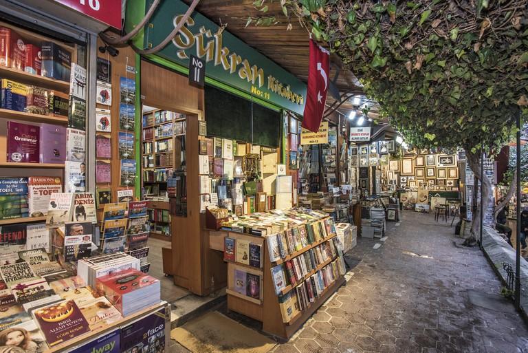 Second-hand Book Bazaar, Istanbul, Turkey