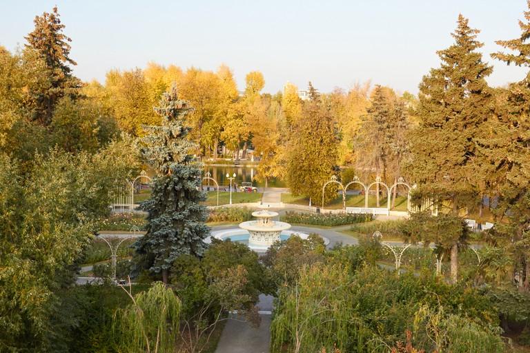 Rosarium in Gorky Park
