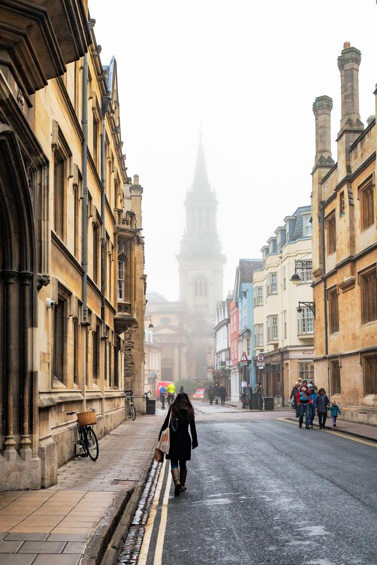 A Walk Down Turl Street