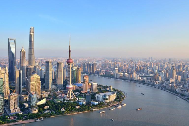 Shanghai Urban Skyline, China