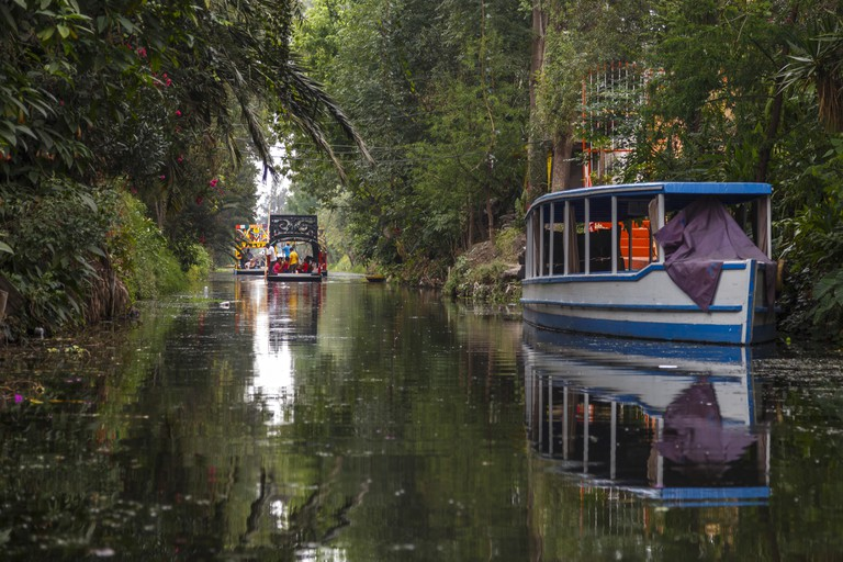 Mexico City canal