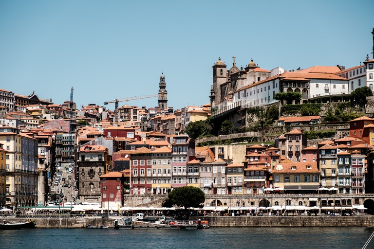 The Ribeira is the historic center in Porto and designated as an UNESCO World Heritage site in 1996