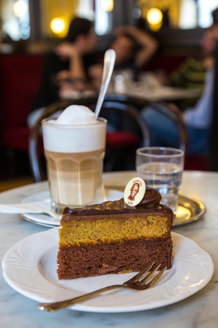 Mozart Torte, Cafe, Vienna, Austria