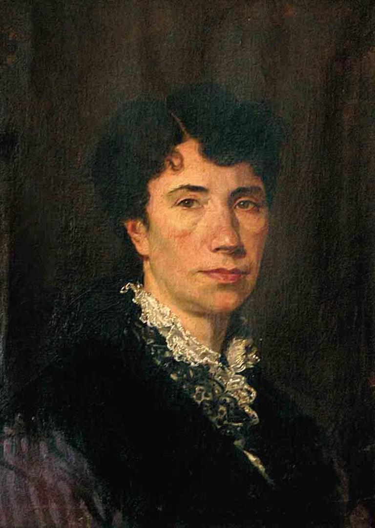 Rosalia de Castro retrato