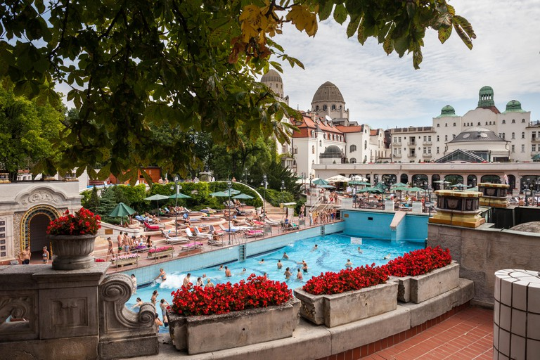 Hungary, Budapest, Gellert Thermal Baths and Swimming Pool complex