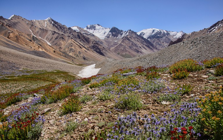 Trekking in the Tajik National Park is a popular activity for visitors to the region