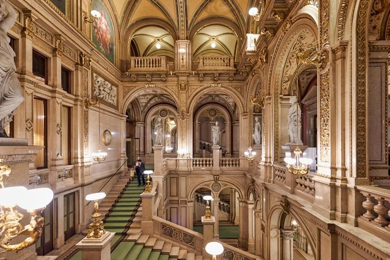 The Vienna State Opera (Wiener Staatsoper)- Vienna Austria