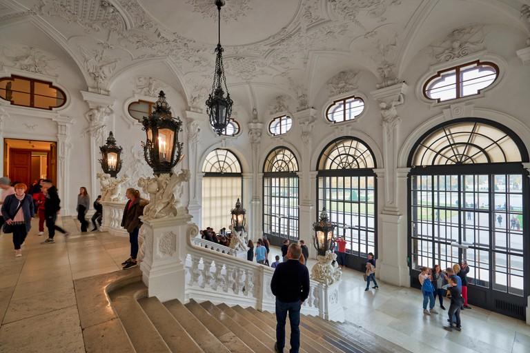 Belvedere Museum. Vienna Austria