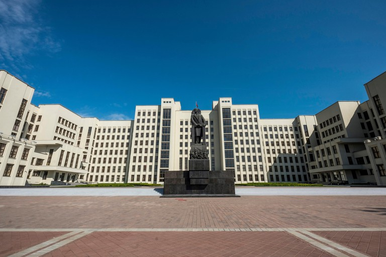 Independence Square, Minsk