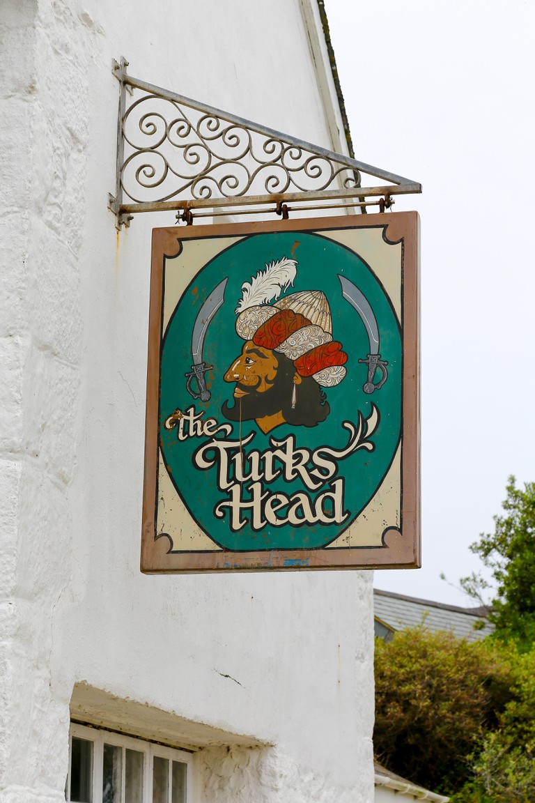 The Turks Head public house or pub on St. Agnes Island, Isles of Scilly, Cornwall, England, UK