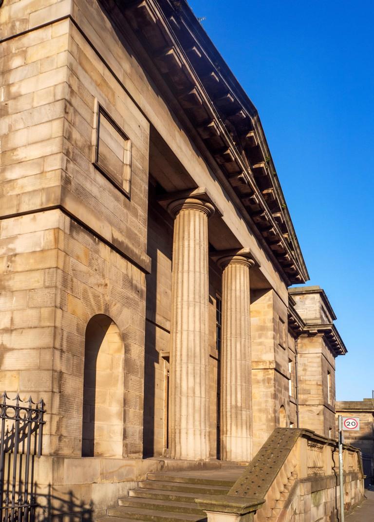 The Georgian Leith Custom House, Leith City of Edinburgh, Scotland.