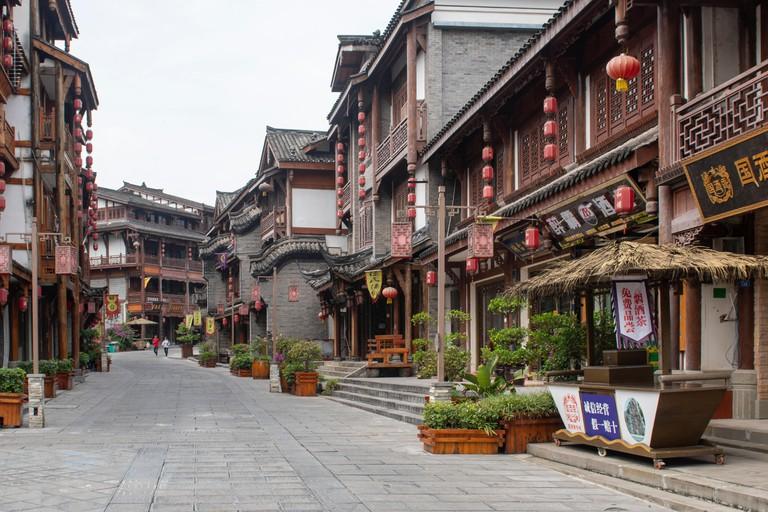 Town of Maotai, Zunyi.