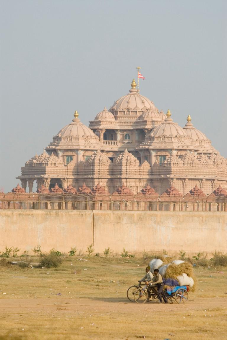 Akshardham Temple in New Delhi