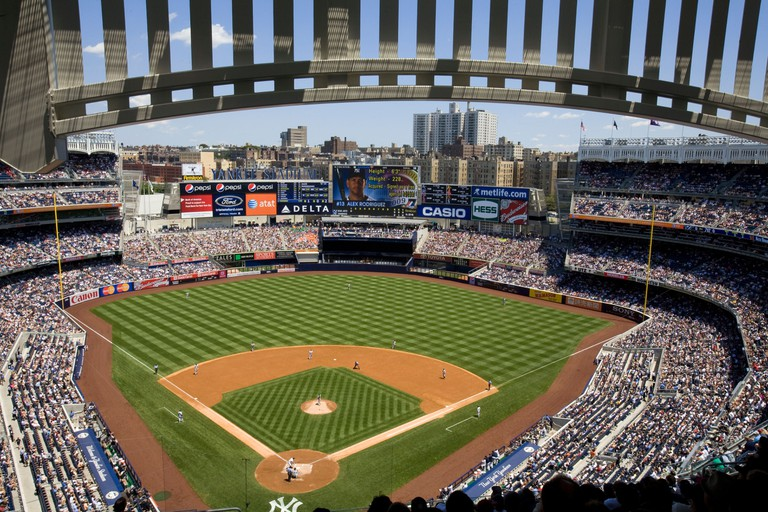 Yankee Stadium), The Bronx, New York City.
