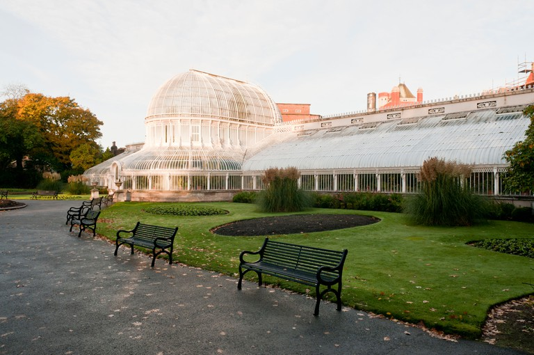 Palm House in Belfast's Botanic Gardens, built 1839-1852 by Sir Charles Lanyon.
