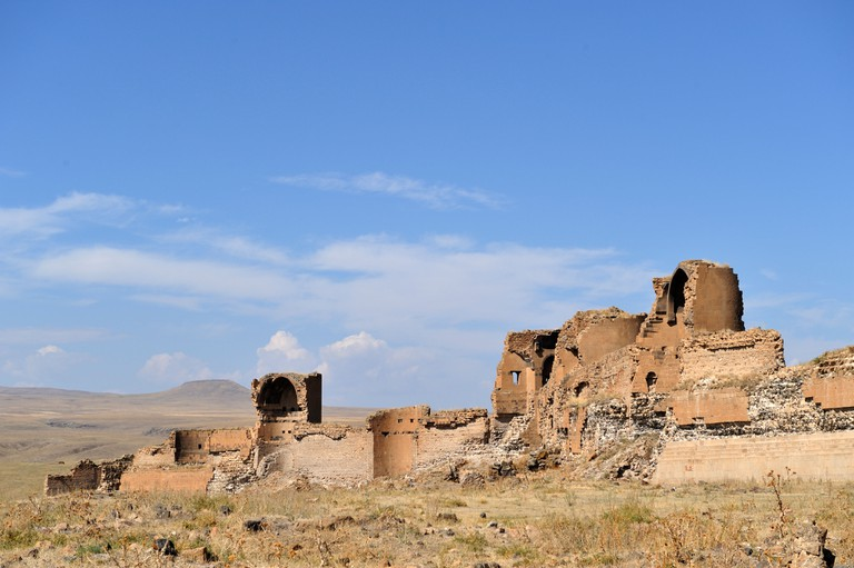 Walls of Ani, Turkey.