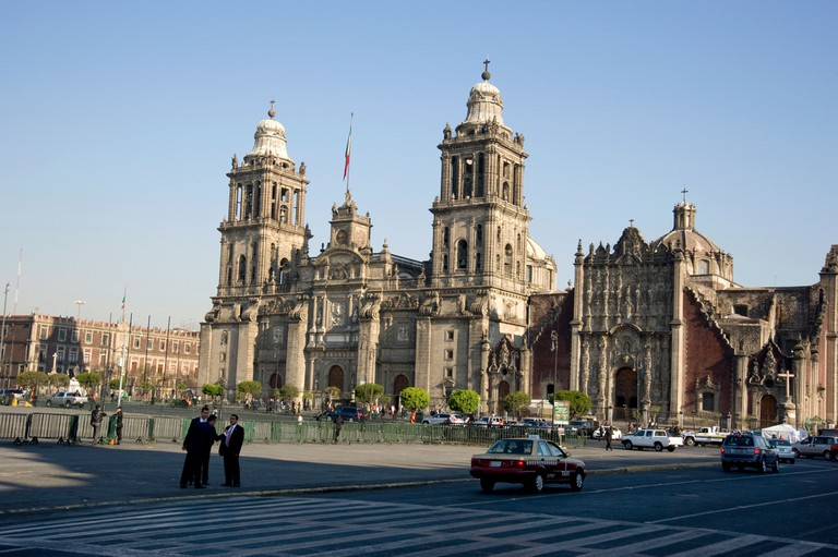 Historic Metropolitan Cathedral in Mexico City