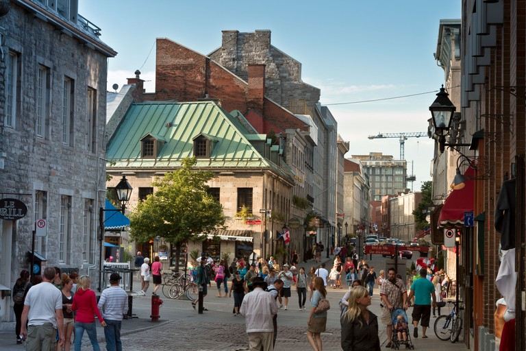 Place Jacques-Cartier, Old Montreal, Montreal, Quebec, Canada