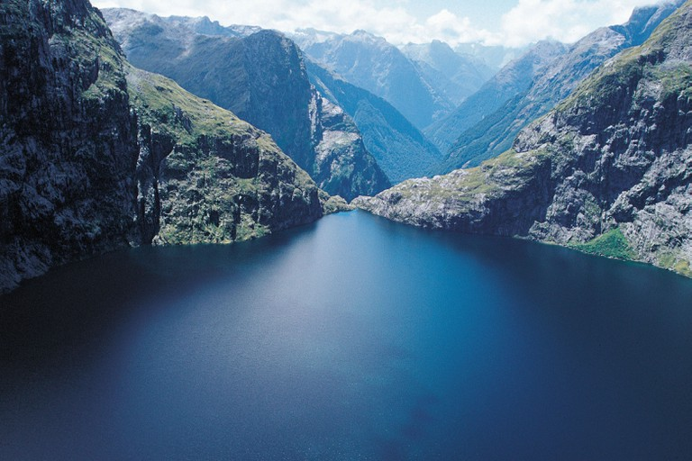 New Zealand - South Island - Southland Fiordland National Park. Lower Lake Quill.