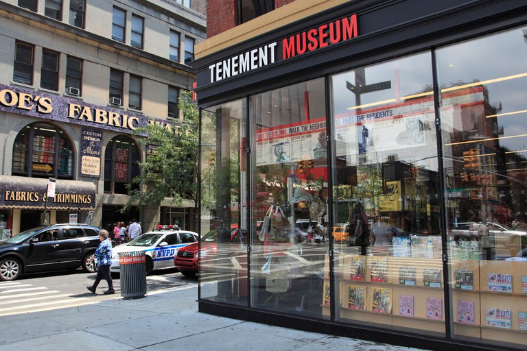 Tenement Museum, Lower East Side, Manhattan, New York City, USA