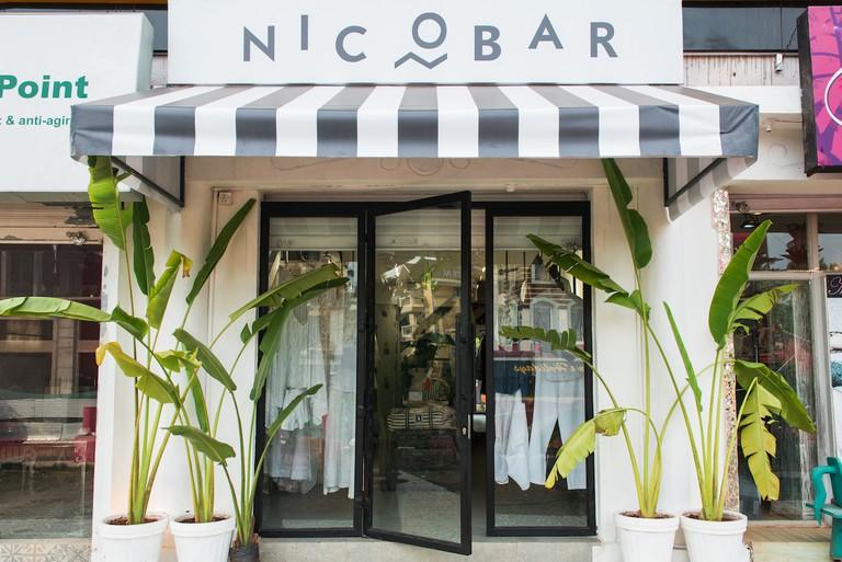 Exterior of Nicobar