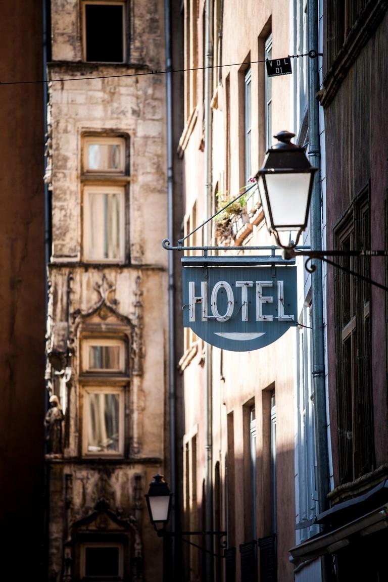 Vieux Lyon, Lyon, Rhone-Alpes, France