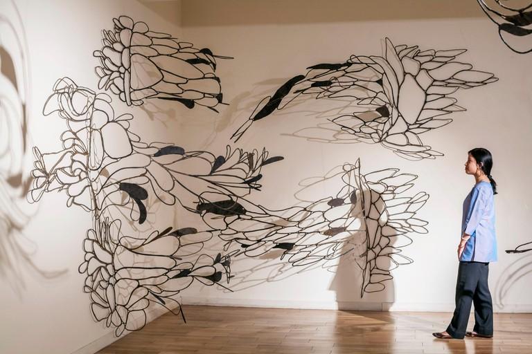 Kiran Nadar Museum of Art shows work by Ranjani Shettar