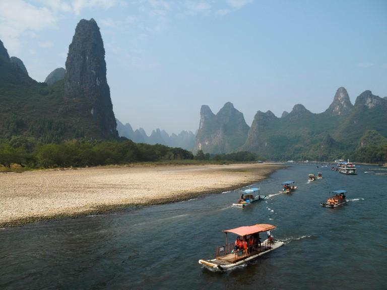 Li river, Guilin, China