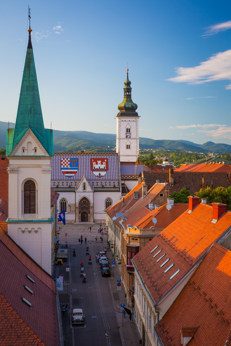 Zagreb is a vibrant city of around 800,000 people, that boasts a charming medieval 'old city'.