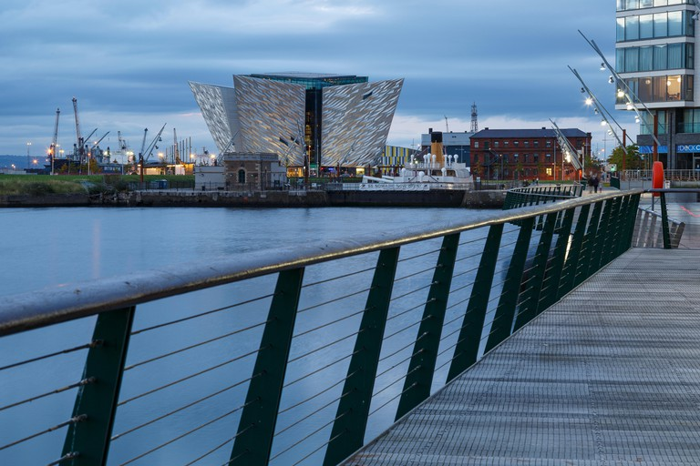 Titanic Museum, Belfast, North Ireland, United Kingdom, Europe