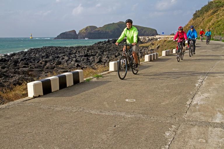 Cycling in Jeju