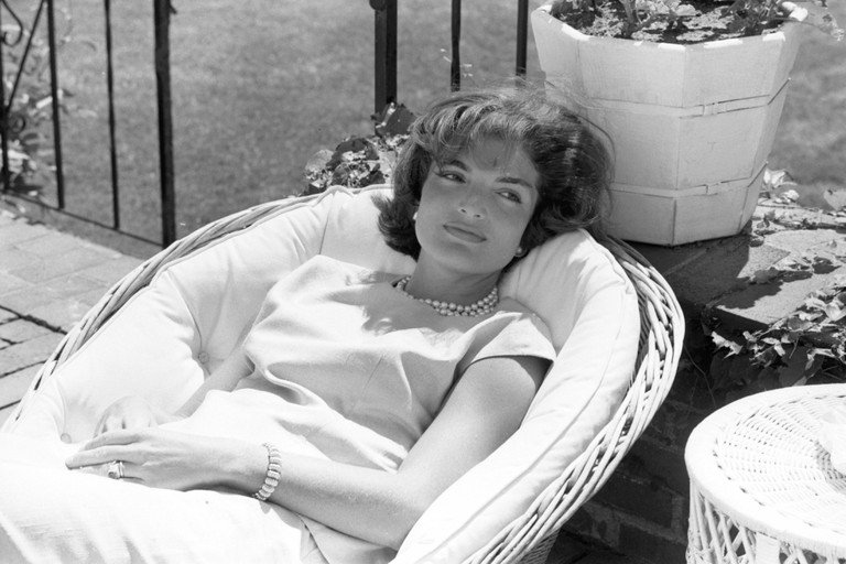 Jackie Kennedy at Hyannis Port