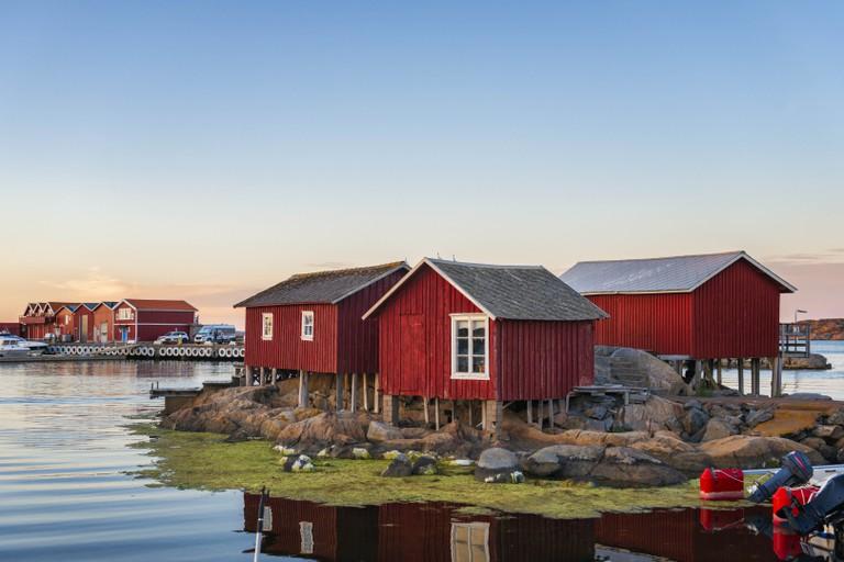 Idyllic island in Sweden