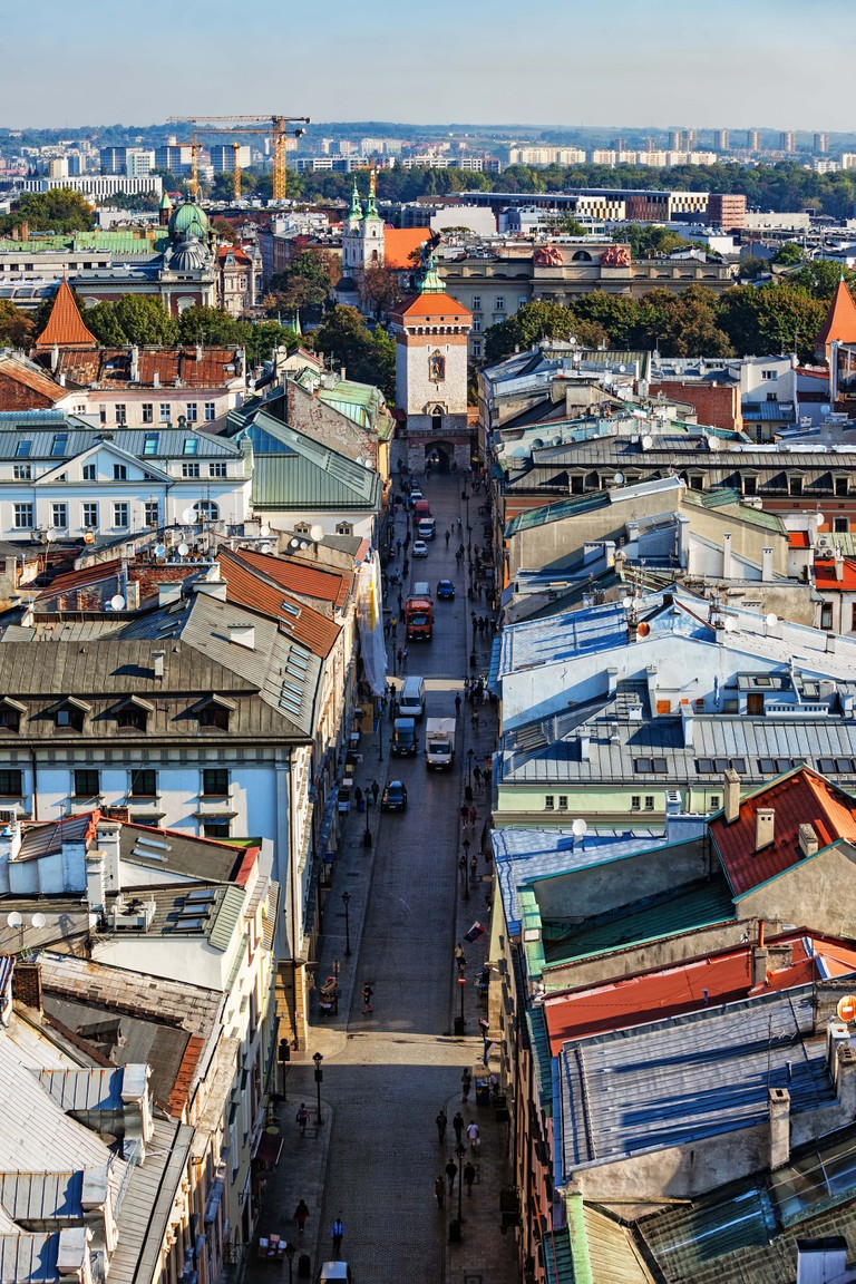St. Florian's Street in Krakow