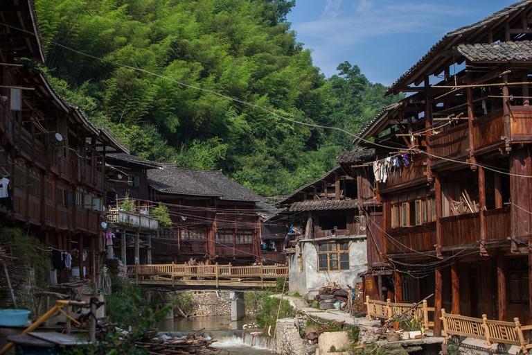 Zhaoxing Dong village, Guizhou, China