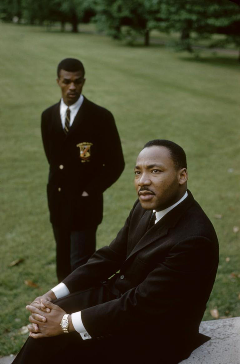 Civil Rights Leaders At Atlanta University