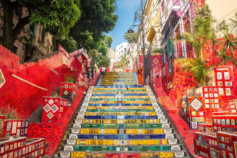 Escadaria Selaron Steps, Rio de Janeiro