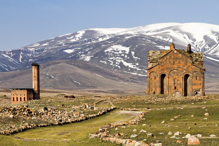 Ruins of Ani in Kars, Turkey