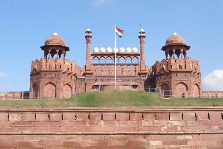 Red Fort facade, Delhi, India