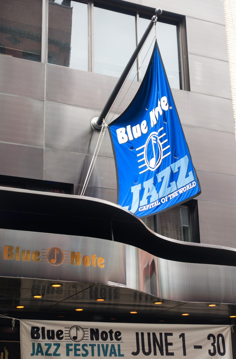 The Blue Note Jazz Club in Greenwich Village in New York City