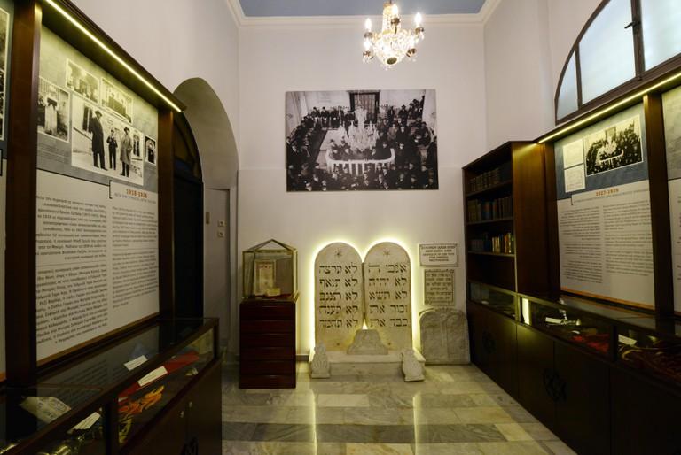 Jewish museum of Thessaloniki, Greece.