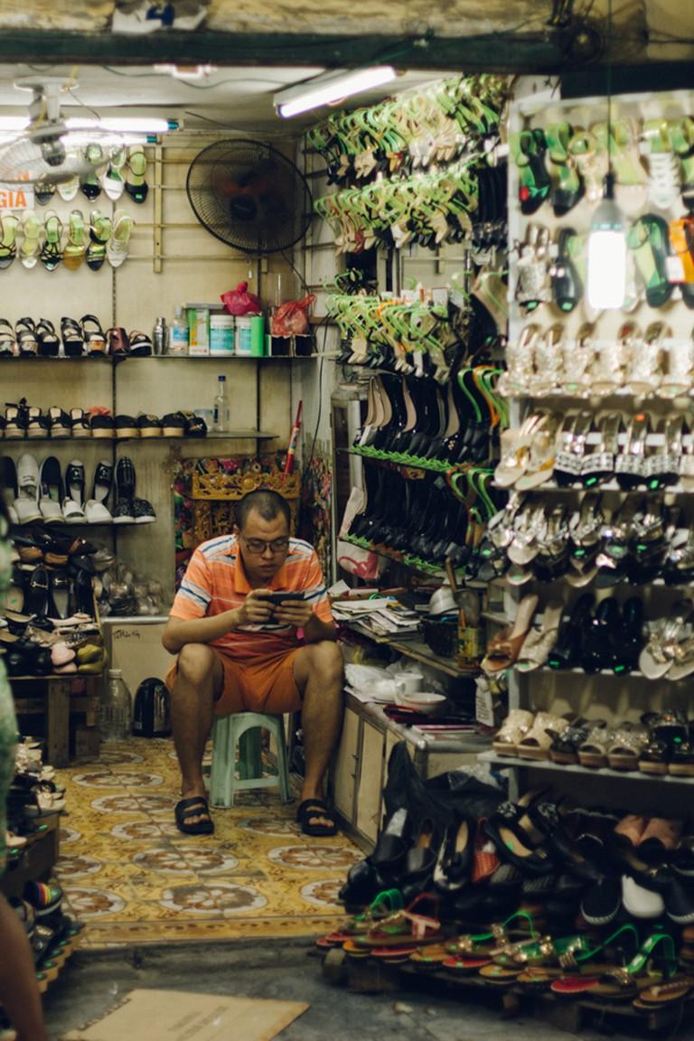 Hang Dau, Shoe Street
