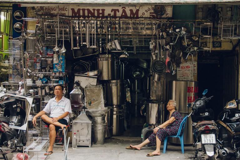 Hang Bac, Silver Street