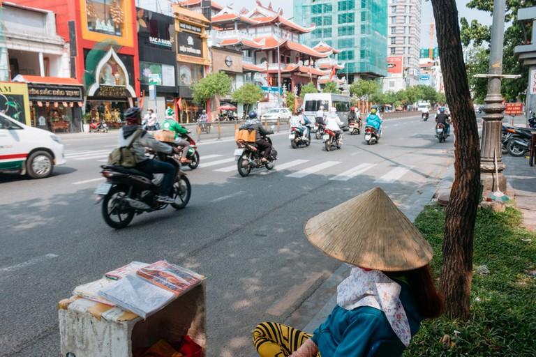 STREETS-DISTRICT 3-SAIGON-VIETNAM-PHAM