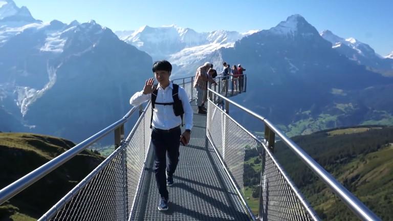 Switzerland Cliff Walk 3