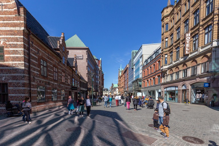 Pedestrian Zone in Malmo city centre