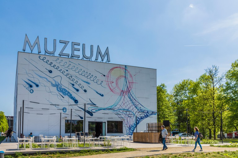 The Museum of Modern Art in Warsaw, Poland, Europe